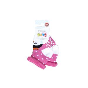 L`adoro termo neklizajuće čarape – pingvin, tamno roza 11637