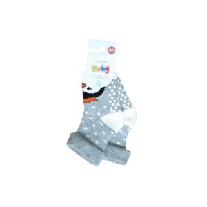 L`adoro termo neklizajuće čarape – pingvin, sive 11637