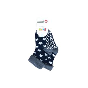 L`adoro termo neklizajuće čarape  – zvjezdice, tamno plave 11637