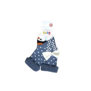 L`adoro termo neklizajuće čarape – pingvin, plave 11637