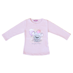 """Majica """"Miš"""" – roza 14318"""