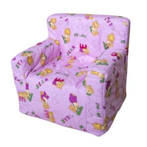 """Dječja fotelja """"Dora"""" – roza, medo 4096"""