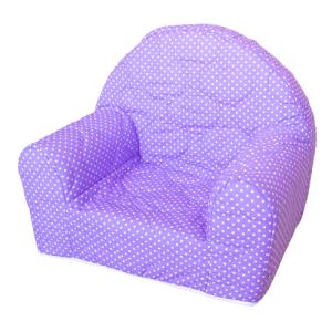 "Dječja fotelja ""Ana"" – točkice, ljubičasta 13323"