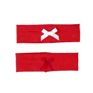 Traka za kosu mašna – crvena