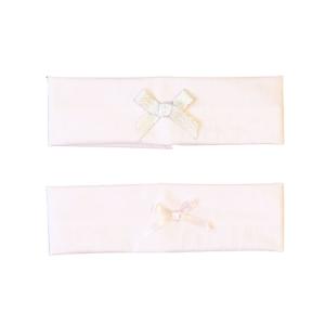 Traka za kosu mašna – svijetlo roza