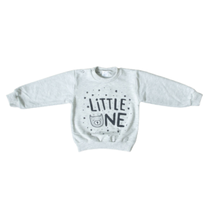 "Monteks majica ""Little one"" (264) – siva 14608"
