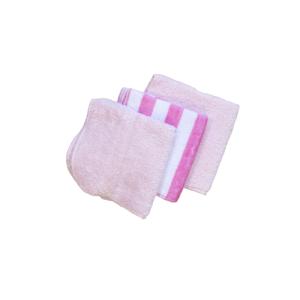 Krpice za brisanje, frotir 3/1 (roza,prugasta,roza) 14701