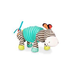 B toys plišana igračka Zebra-harmonika 14667