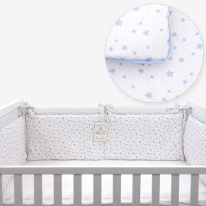 Ogradica za krevetić – Zvjezdice plave 14698
