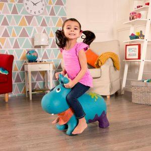 Gumena igračka na napuhavanje Hippo
