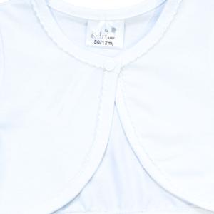 Kretex baby bolero – bijeli K10549