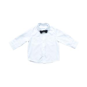 Azzuro kids košulja s mašnom – bijela 14077