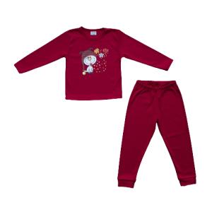 """Kretex baby pidžama """"Pas"""" (80-86) – crvena K10516"""