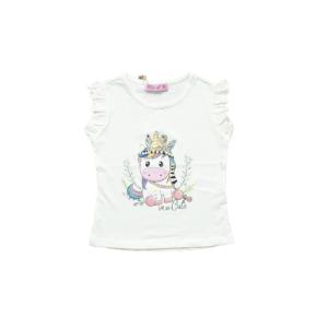 "Miss Zelish majica ""Cute"" k.r. – vanilija, 14964"