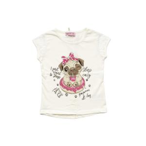 """Miss Zelish majica """"Tea"""" k.r. – vanilija, 14965"""