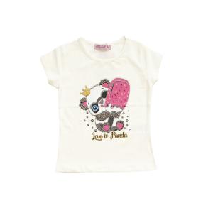 """Miss Zelish majica """"Panda"""" k.r. – vanilija, 14963"""