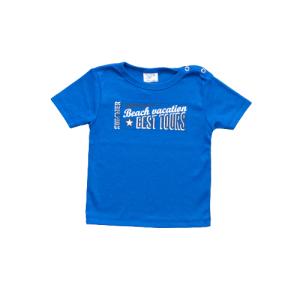 """Kretex baby majica """"Vacation"""" k.r. – plava, K3978"""