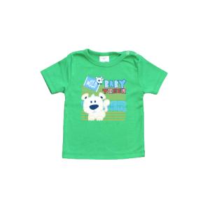 "Kretex baby majica ""Wild"" k.r. – zelena, K3978"