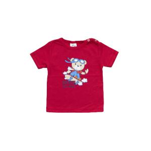 """Kretex baby majica """"Skate"""" k.r. – crvena, K3978"""