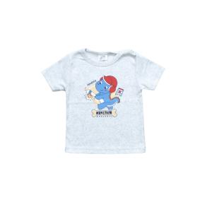 """Kretex baby majica """"Dinosaur"""" k.r. – siva, K3978"""