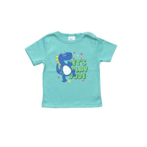"""Kretex baby majica """"Dino"""" k.r. – zelena, K3978"""