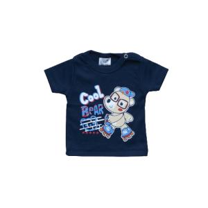 "Kretex baby majica ""Bear"" k.r. – tamno plava, K3978"