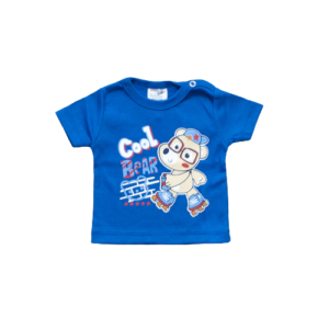 "Kretex baby majica ""Bear"" k.r. – plava, K3978"