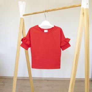 """Kretex majica """"Volan"""" k.r. – crvena, K10568"""