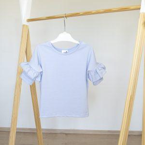 """Kretex majica """"Volan"""" k.r. – plava, K10568"""