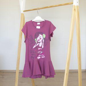 "Kretex haljina ""Franka"" k.r. – ružičasta, K10570"