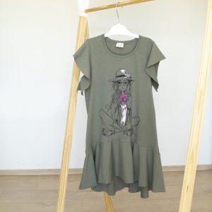 """Kretex haljina """"Franka"""" k.r. – zelena, K10570"""