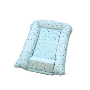 Gnijezdo za bebe sa potpornim jastukom – plavo, F16272