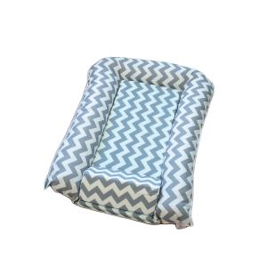 Gnijezdo za bebe sa potpornim jastukom – sivo, F16272