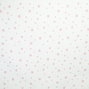 Monteks ogradica za krevetić – roze zvjezdice, 15038