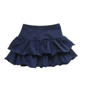 "Kretex suknja ""Volani"" (vel. 80-4) – tamno plava, K10592"