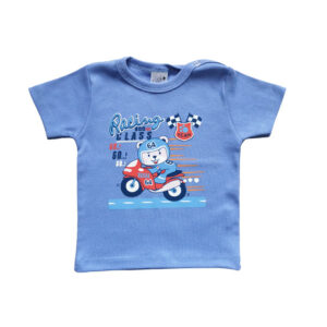 "Kretex majica k.r. ""Racing"" (vel. 62-86) – plava, K3978"