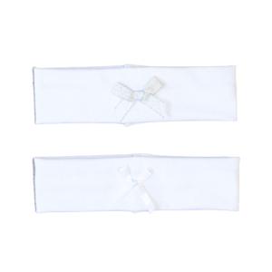 Traka za kosu mašna – bijela