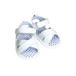 """Jungle sandalice """"Točkice"""" – bijele, 15057"""