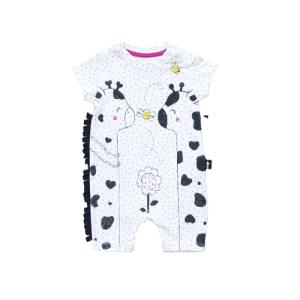 """Tongs baby kombinezon """"Žirafe"""" – bijeli, 15096"""
