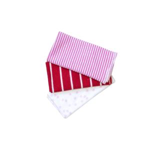 Krpice za brisanje 3/1 – crveno-roze, 13272
