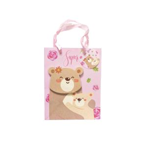 """Ukrasna vrećica """"Super mom"""" – roza, 13187"""