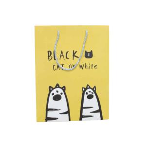 "Ukrasna vrećica ""Cat"" – žuta, 13188"