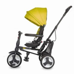 Coccolle Spectra tricikl – žuti, 15592