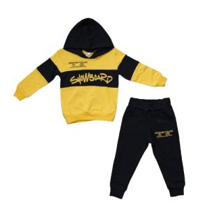 "Pelops komplet 2/1 ""Snowboard"" – crni sa žutim, 15746"