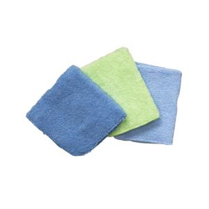 Krpice za brisanje, frotir 3/1 – plava, zelena 14701