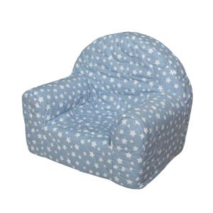 """Dječja fotelja """"Ana"""" – plava sa zvjezdicama, 13323"""