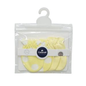 Caramell rukavice 2/1 – žute, 14836