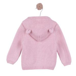 Minky vestica sa kapuljačom – roza, 16028